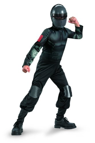 Disguise G.I. Joe Retaliation Snake Eyes Klassische Kinderkost-m 10 - 12