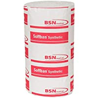 Soffban BF7148204 - Relleno sintético fundido, no estéril, 7,5 cm de ancho, 2,7 m de largo, 12 unidades, color blanco