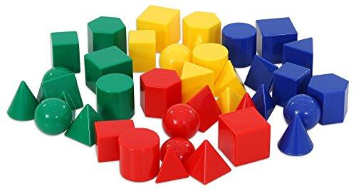 Betzold  87269 Handy Geometrische Solids, 40 Stück, sortiert
