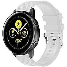 Pulsera Samsung Galaxy Watch Active, MINXINWY Pulseras Actividad Mujer Reloj de Ajuste Fácil