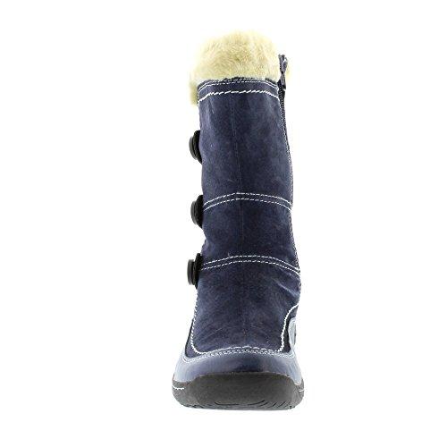 Earth Spirit Caribou Stiefel Marineblau Blau