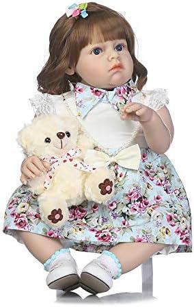 26 Pouces en en en Silicone Souple Bébés Reborn Baby Doll Alive Tissu De Corps La Vraie Vie comme Nouveau-Né Dolls Girl Toy Cheveux d'or B07HNYMYFX 1fe327