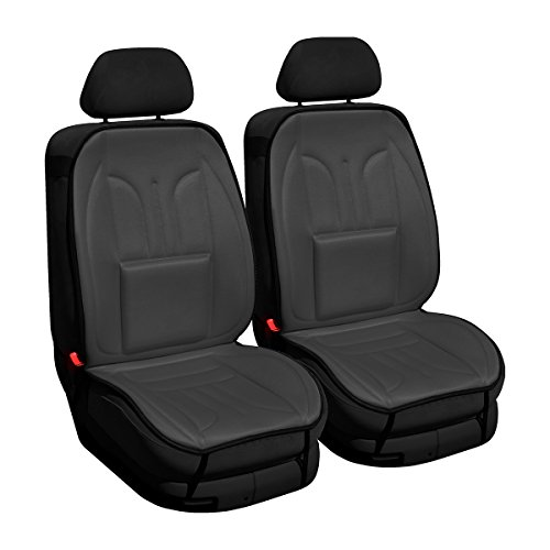 (MT-G) Protectores perfiladas de asiento para coche compatible con PEUGEOT (104, 106, 107, 205, 206, 207, 208, 301, 305, 306, 307, 405, 406, 407, 505, 605, 607, 1007, 2008, 3008, 5008) - (dos asientos)