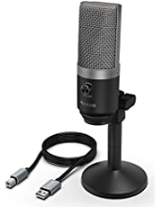 Fifine K670 PC Microphone for Windows and MAC for Recording, Streaming Twitch, Voice Overs, Skype and Podcasting for YouTube