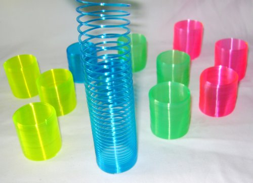 new-12-mini-slinky-springs-4-colours-party-loot-bag-filler-3cm-hb