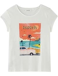 Promod T-Shirt mit Front-Print