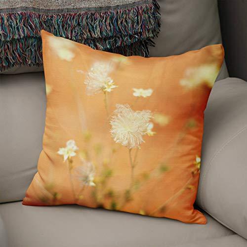 Wildflower Creme (EstherBur87 Wildflower Bouquet Kissenbezug Blumendekor Utah Dekor vertr?umte Home Decor Floral Kissenbezug Orange Creme Desert Theme Home)