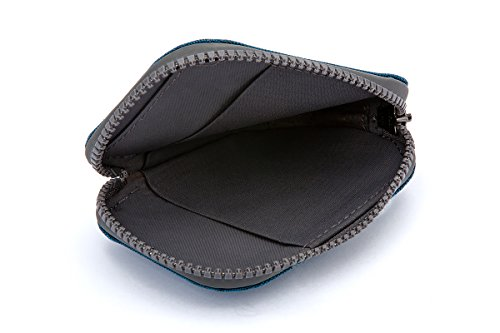 Bellroy Geldbörse All Conditions, Farbe: Charcoal - Woven Blue-Woven