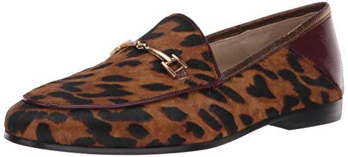 Sam Edelman Women's Loraine Loafer, Luggage/Beet red/Rich Bronze, 9.5 M US (Bronze-loafer)