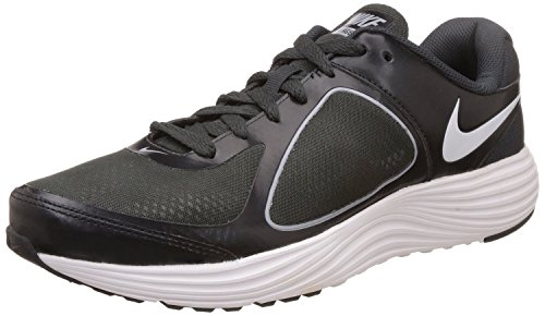 Nike Men's Emerge 3 Black, White, Anthracite and Wolf Grey Running Shoes (704656-006)- 10 UK  available at amazon for Rs.1995