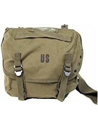 2c85ea11db GEAR® Sac Messenger Besace Musette à Bandoulière US Army - Inscription US -  Coloris Kaki