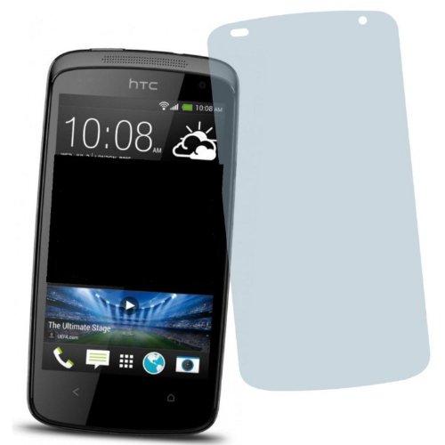 4ProTec 2X HTC Desire 500 ENTSPIEGELNDE Bildschirmschutzfolie DisplayschutzfolieSchutzhülle Bildschirmschutz Bildschirmfolie Folie