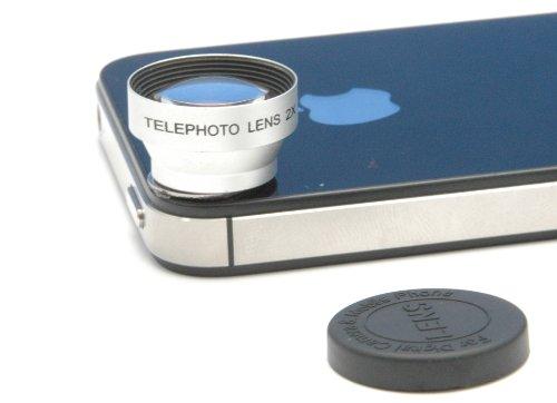 Smartbox INTELIGENTE SM200 Telefoto 2 para el iPhone 5 / 5S / Samsung Galaxy S4 Negro