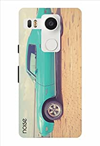 Noise Vintage Blue Car Printed Cover for LG Nexus 5X