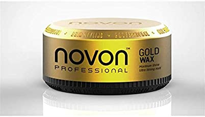 Novon Professional Gold Wax 150ml - Aqua Hair Wax