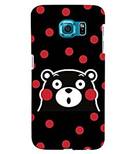 GADGET LOOKS PRINTED BACK COVER FOR SAMSUNG GALAXY S6 EDGE MULTICOLOUR