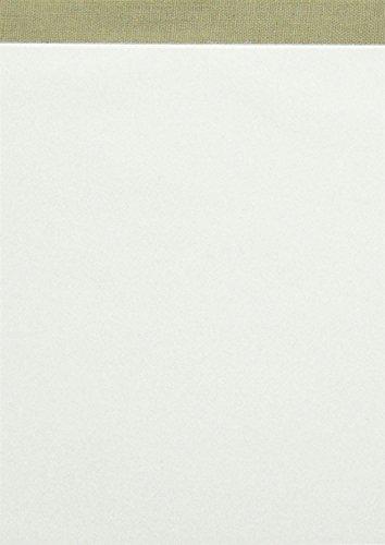 Landre-100050639-Notizblock-ohne-Deckblatt-DIN-A6-50-Blatt-blanko-60-gqm-feines-holzfreies-Schreibpapier-grau-geflzelt-perforiert-10er-Pack