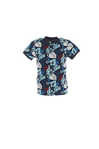 Polo Uomo Henry Cotton's S Blu 83328-50-84711 Primavera Estate 2016