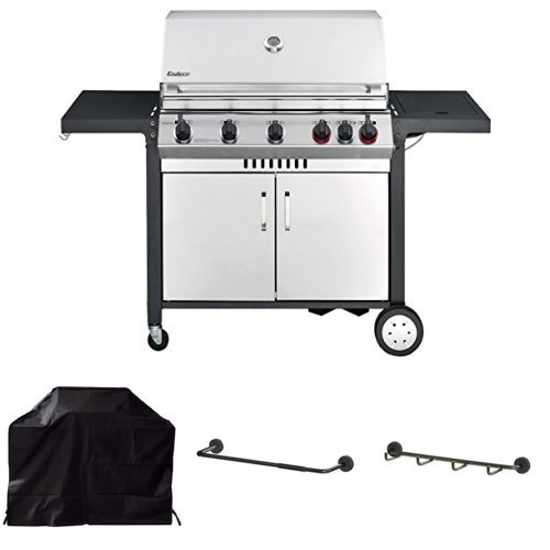 Enders Gasgrill Monroe 5 Kp Turbo Wetterschutzhlle Grill Mags