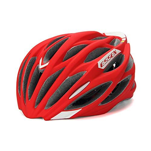 AQUYY Fahrradhelm, 56-60 cm, Erwachsener Helm, Rennrad Auto Reithelm Ultraleichte Fahrradkollision Outdoor-Ausrüstung