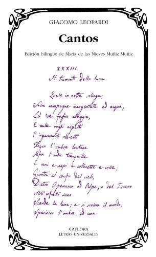 Cantos (Letras Universales)