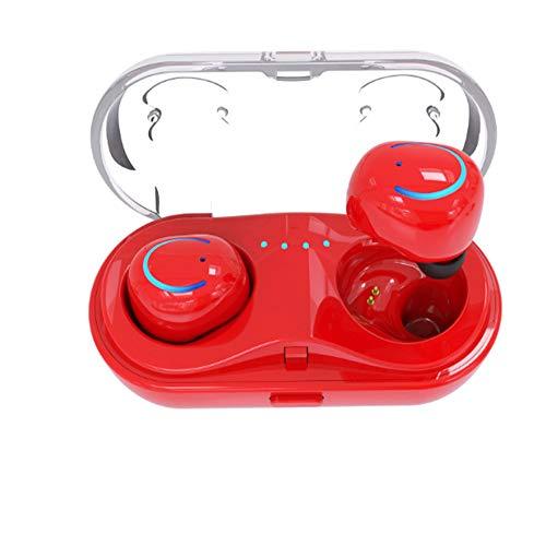 BUHWQ Bluetooth-Headset mit Trageriemen zum Aufladen des Ohrbügels Kabelloses langes Standby-Gerät mit dem geringsten Gewicht 10 in-ea -