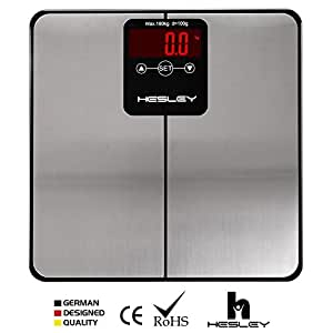 HESLEY BMI Body Analyzer - Weighing Machine, Weighing Scale - 180 Kgs, 10 users