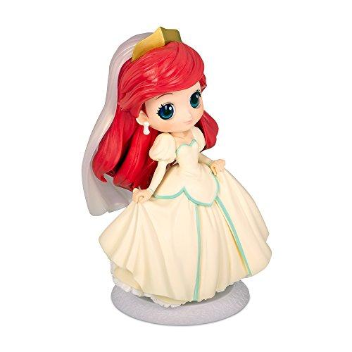Figur Sammlung Ariel 14cm - Beiges Kleid - Little Mermaid - Serie QPOSKET Banpresto Disney Characters Dreamy Style - Version A