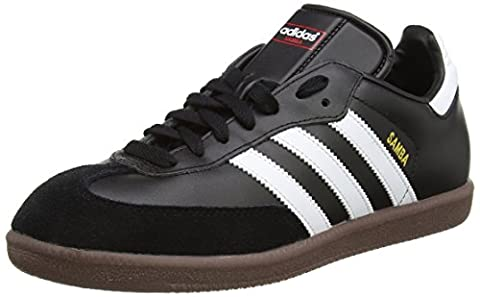 adidas Samba, Unisex-Erwachsene Low-Top Sneaker, Schwarz (Black/ Running White), 40