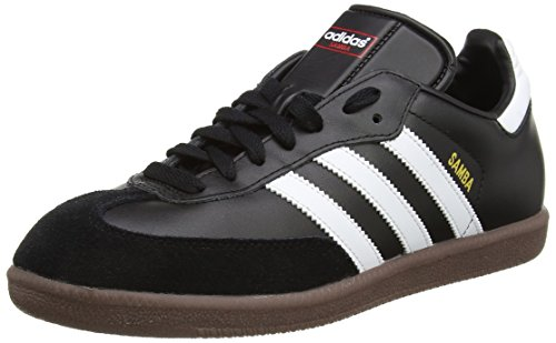 adidas Originals Samba, Baskets mode homme, Noir (Black/Running White)-41 1/3 EU