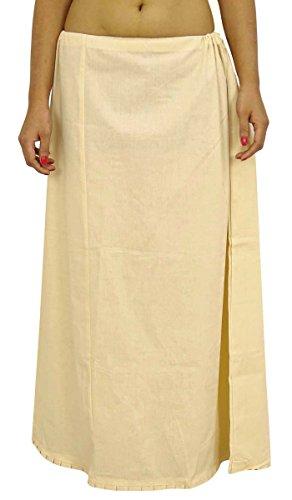 Saree Petticoatunderskirt Cotton Bollywood Indian Futter für Sari