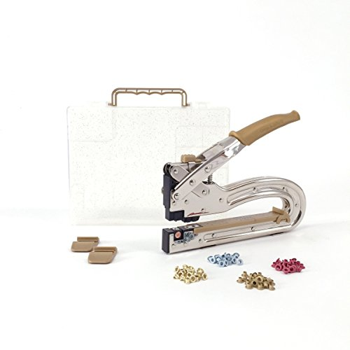 Crop-A-Dile Big Bite II GOLD with case and 100 Gromlets (eyelets) - We R Memory Keepers Eyelet Tool-kit