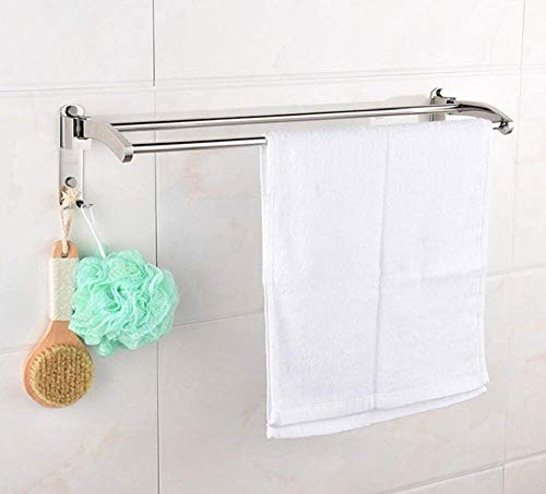 YUH Einfache Handtuchhalter im europäischen Stil - Robuster Handtuchhalter aus Edelstahl - für Hotel- und Home-Badregale -
