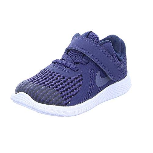 release date b8d74 b2f16 Nike Unisex-Kinder Revolution 4 (TDV) Traillaufschuhe, Blau (Neutral Indigo