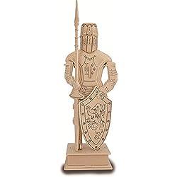 Quay Caballero Medieval artesanía en madera Kit de construcción FSC