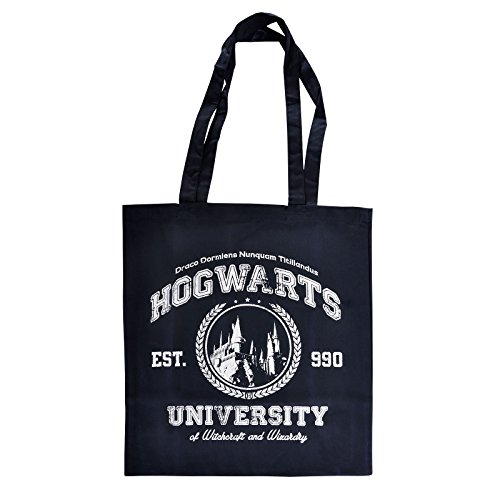 Elbenwald Magic University Beutel für Harry Potter Fans Navy