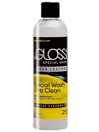 begloss-special-wash-faux-leder-250-ml-sanfte-reinigung-agent-fur-wetlook-kleidung-waschmittel