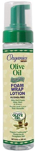 Africa's Best Organic Olive Oil Foam Wrap Lotion 250 ml (Haarpflege; Styling Produkte)