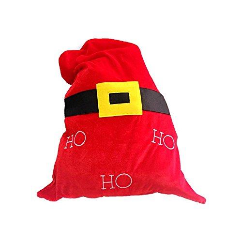 Bluelover Weihnachtsdekoration Santa Candy Bag Stocking Taschen Schmuck Bonbons Lagerung - 1
