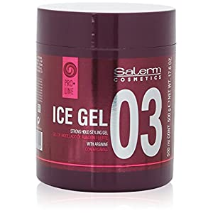 Salerm Cosmetics Ice Strong Hold Styling Gel Fijador – 500 ml