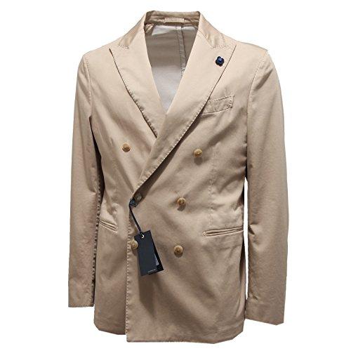 0637n-giacca-uomo-lardini-doppiopetto-jacket-coat-men-52-r