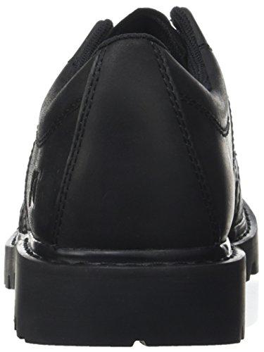 Caterpillar Earn, Derby Chaussures À Lacets Pour Homme Noir (noir)