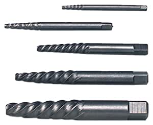 Wright Tool 9G95202 Screw Extractor Set, 5-Pieces by Wright Tool