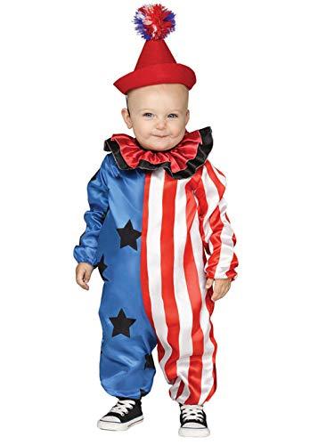 Fun World Kleinkind Größe Cute Baby Clown Kostüm (Cute Clown Kostüm)