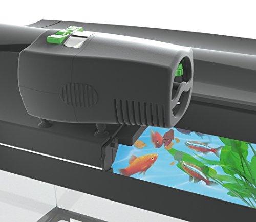 Tetra myFeeder Futterautomat für Zierfische im Aquarium, anthrazit, inklusive Batterien - 6