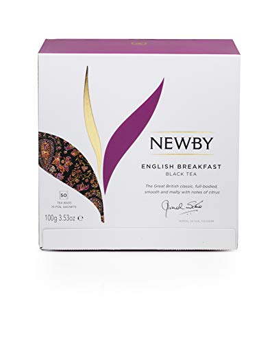 Newby Teas English Breakfast Teabags (Pack of 1, Total 50)