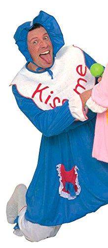 Baby Kostüm für Erwachsene - Blau - Herren Gr. L - Toll für Junggesellenabschied, Männerballett und Fasching (Sturm Kostüme Für Erwachsene)
