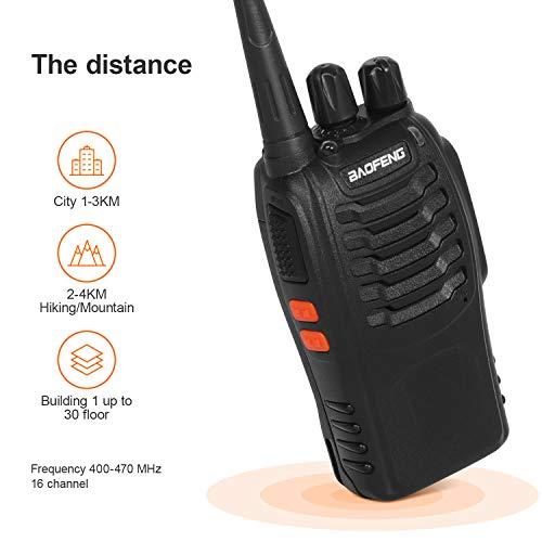 Zoom IMG-2 walkie talkie ricetrasmittente fm vhf