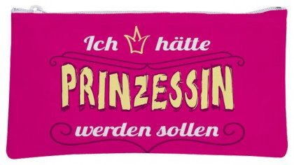 Pochette cosmétique knaut Schi Princesse serait bien Étui