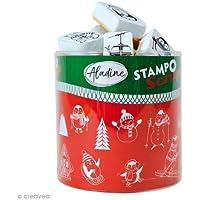 Aladine 03747Stampo Scrap Navidad personaje